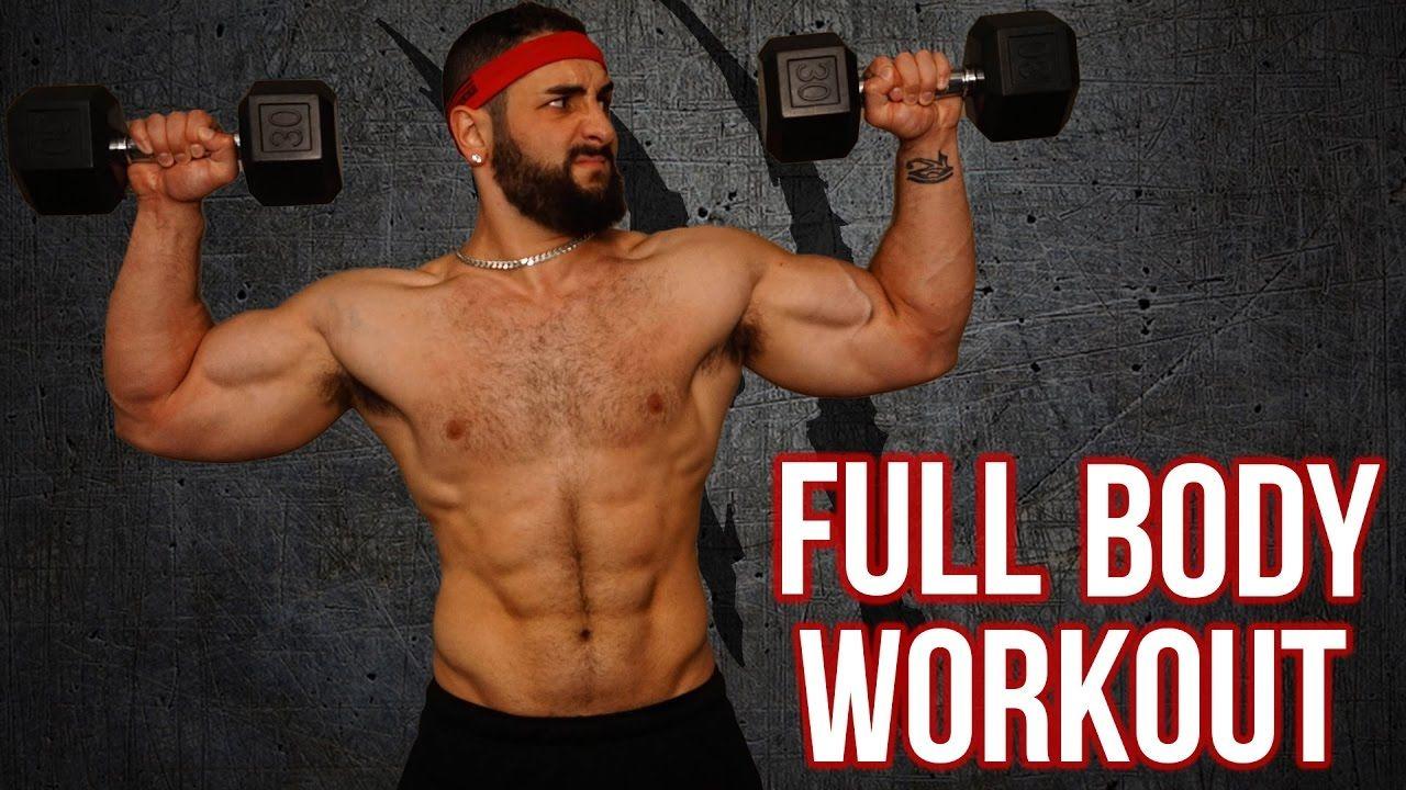 Pin on Full body dumbbell workout
