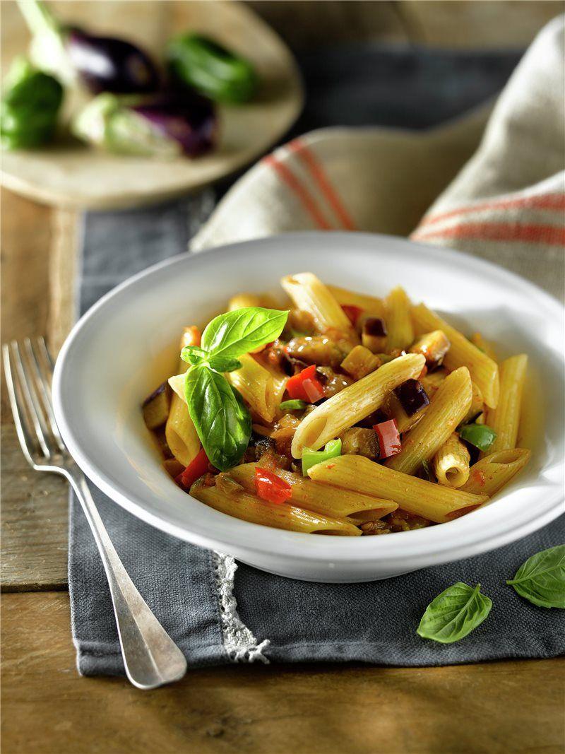 Macarrones Con Verduras Receta Macarrones Con Verduras Verduras Recetas De Pastas