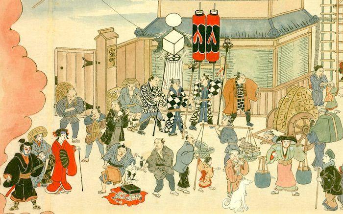 江戸時代の火消しは破壊が仕事 現代の消防士と違いすぎるその実態とは 火消し 消防士 日本画