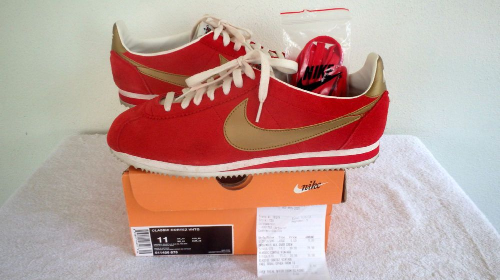 bb1f7de1bb09 Nike Classic Cortez VNTG Mens Shoes Supreme Sz 11 OG Dunk Force  511456  678   Nike  Casual
