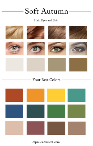 The Blog Personal Styling Cladwell Summer Color Palette Summer Color Palettes Soft Autumn