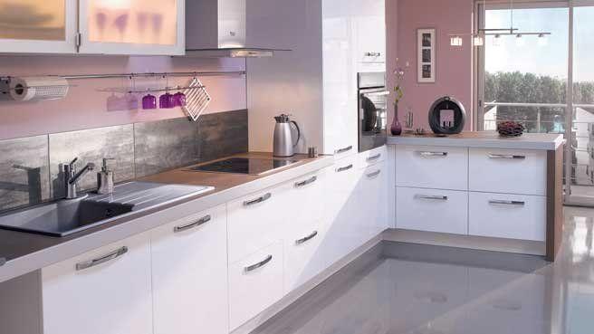 Une d co de style romantique dans la cuisine salons - Cuisine style romantique ...