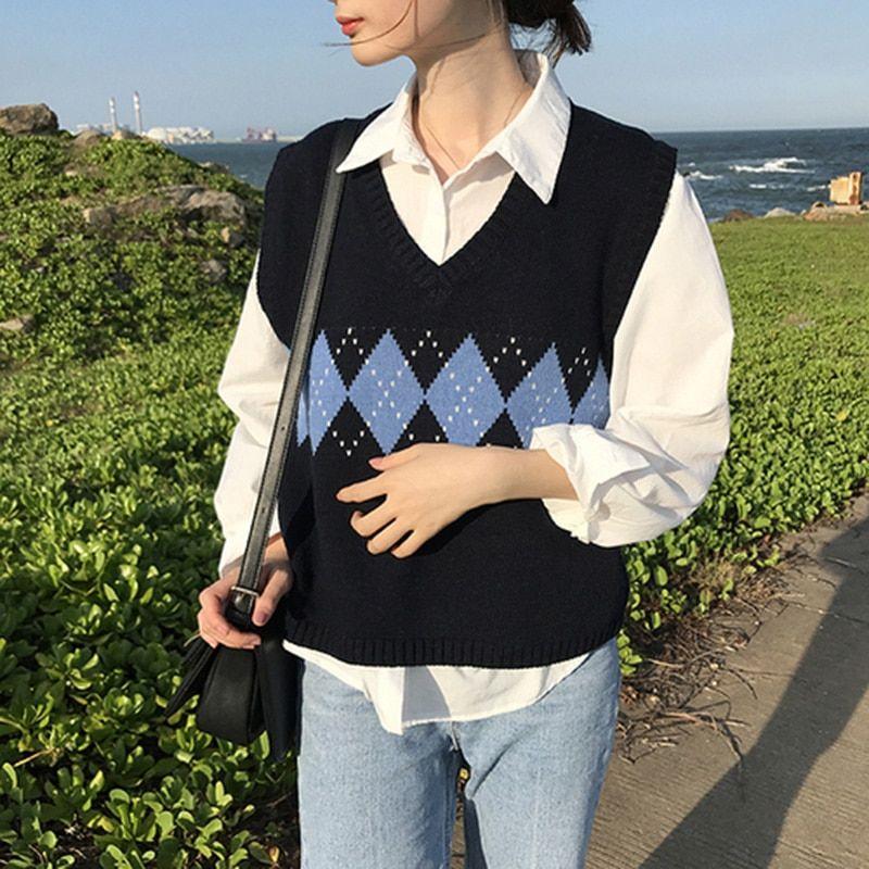 Spring Sweater Vest