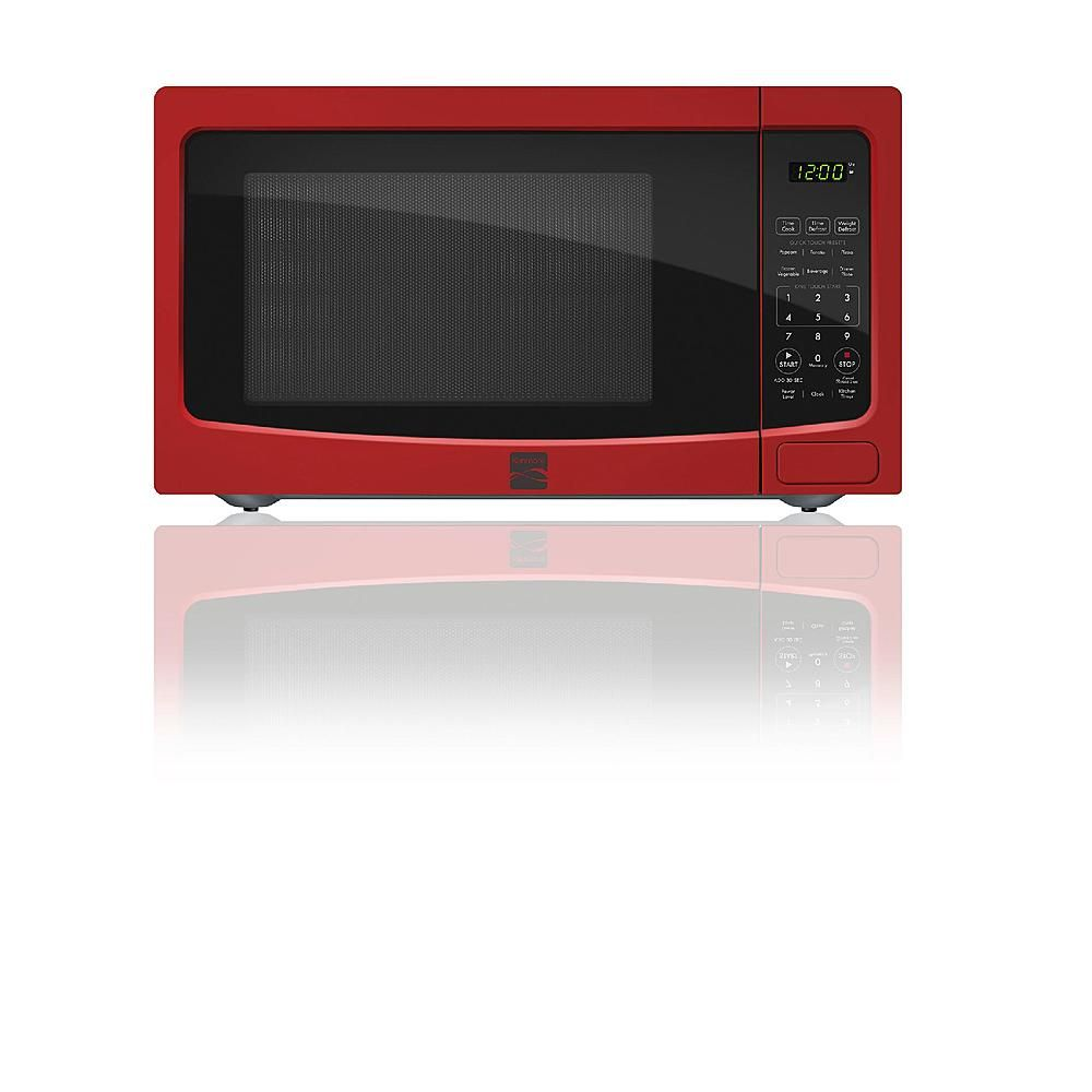 Kenmore 73116 1 1 Cu Ft Countertop Microwave Oven Red Countertop Microwave Oven Countertop Microwave Microwave