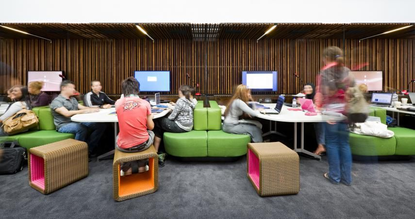 Multimedia Classroom Design ~ Bond university multimedia learning centre wilson