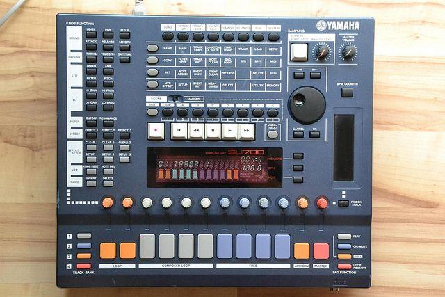 Yamaha SU700 - internal SCSI HDD upgrade and repair works