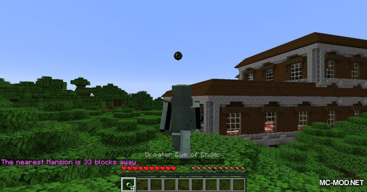 Greater Eye Of Ender Mod 1 16 1 1 15 2 Help You Locate Structure In Minecraft Mc Mod Minecraft 1 16 1 1 15 2 Mods In 2020 Locations Mc Mods Mansions