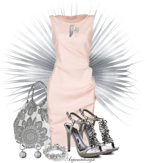 """""""Emilio Pucci Dress"""" by arjanadesign ❤ liked on Polyvore"""