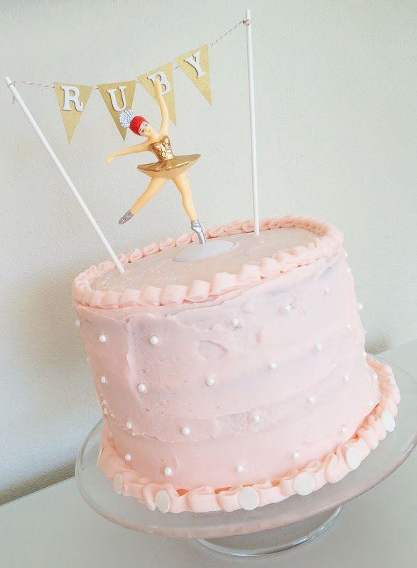 Operation Ballerina Birthday Cake Cherry Vanilla Cake from