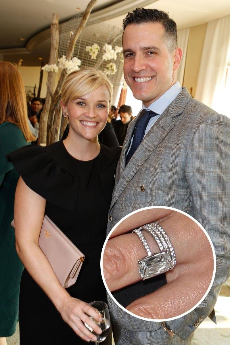 The 51 Best Celebrity Engagement Rings Reese witherspoon