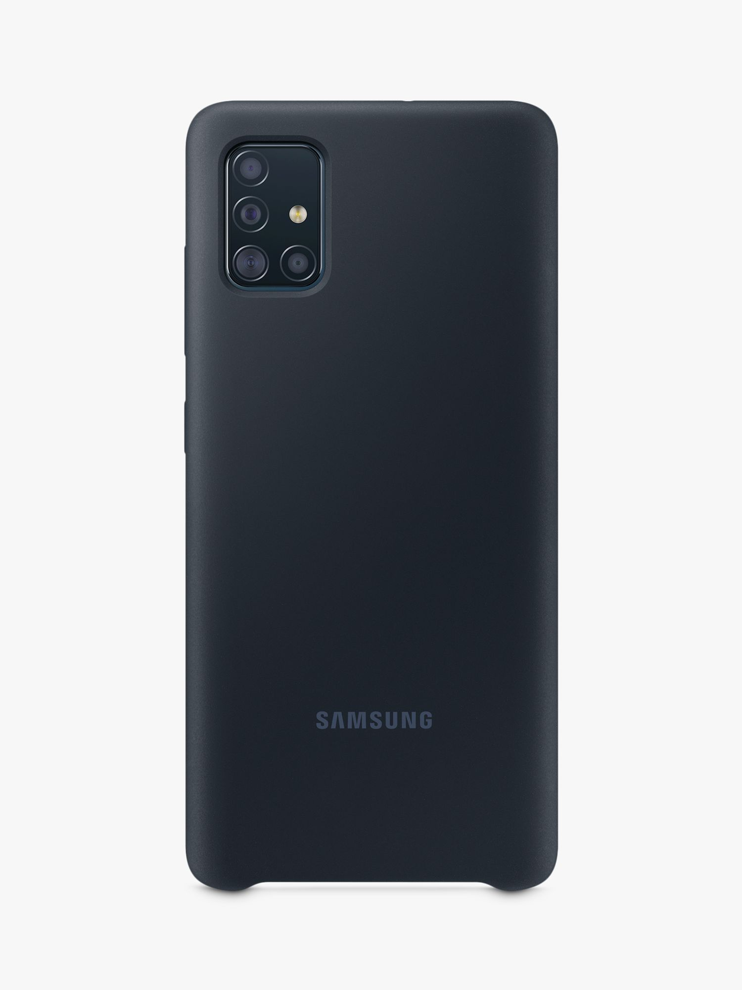 Samsung Galaxy A51 Soft Touch Cover Black In 2020 Samsung Galaxy Samsung Mobile Phone Cases