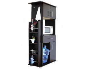 Alacena Vallarta Con 3 Puertas Y 3 Entrepanos Muebles Para Despensa Muebles Microondas Diseno Muebles De Cocina