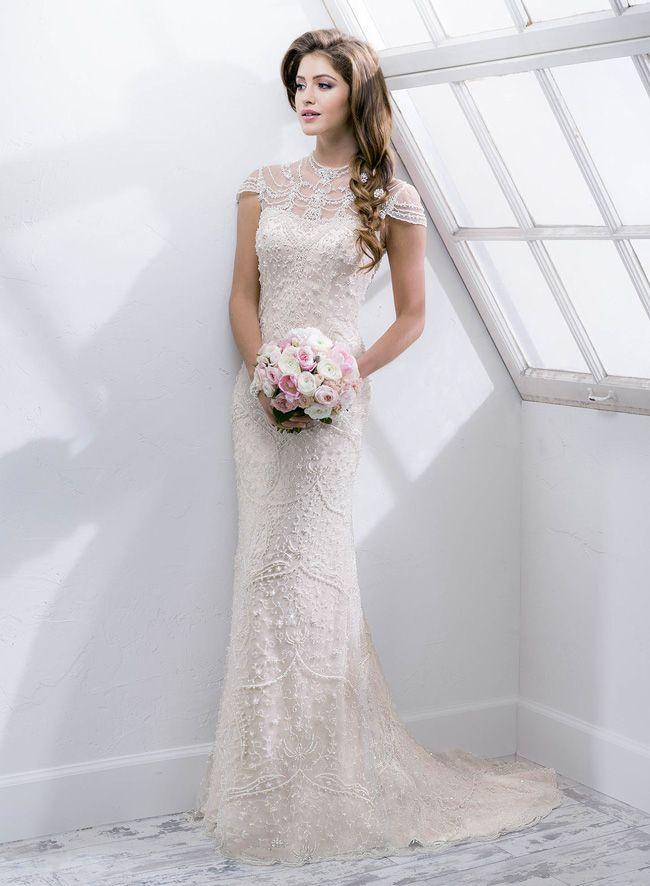 New Sottero And Midgley Collection Boasts Art Deco Inspired Details Gatsby Wedding Dress Sottero And Midgley Wedding Dresses Wedding Dresses