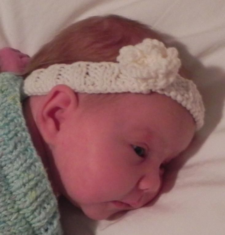 Fleur Dange Baby Or Toddler Headband Headband Pattern Knitting