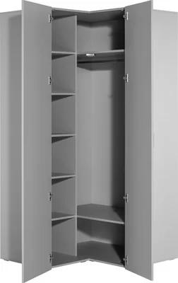 Gemini 2 Door Corner Wardrobe In 2020 Corner Wardrobe Wardrobes Uk 4 Door Wardrobe
