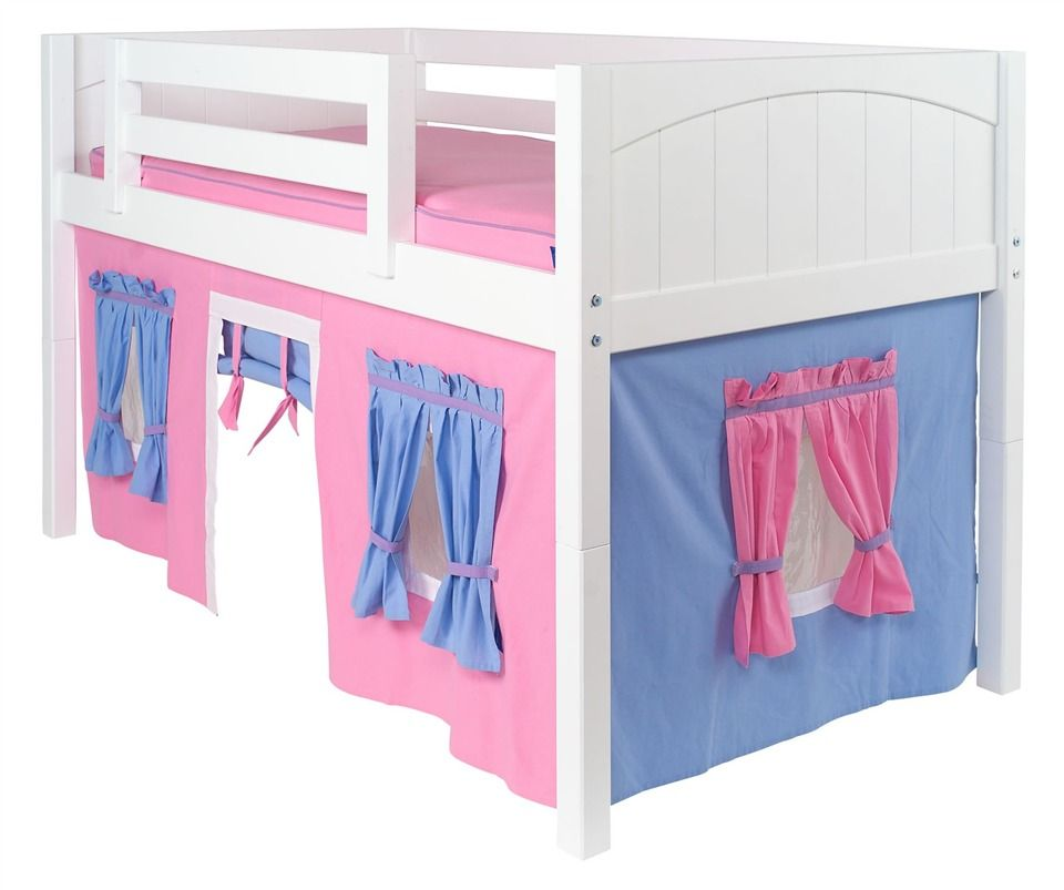 Loft Or Bunk Bed Curtain W Playhouse Windows Doors Kiddie Stuff