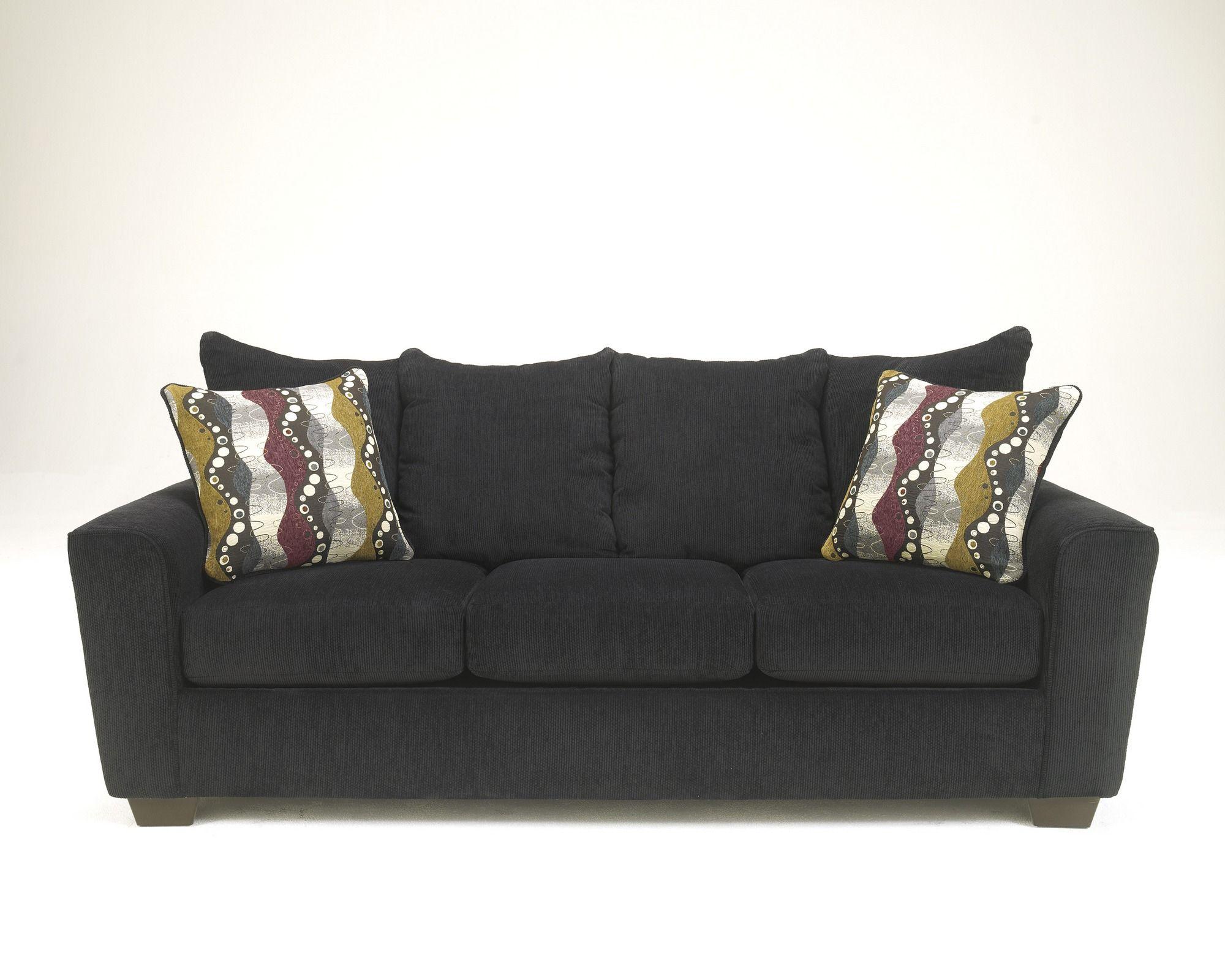 Awesome 2690038 Benchcraft By Ashley Brogain Ebony Sofa Ebony Pdpeps Interior Chair Design Pdpepsorg