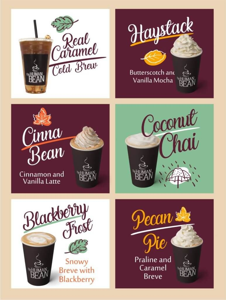 Human Bean Holiday Drinks Are Available Now And All Year Long Autumn Flavors Human Bean Holiday Drinks