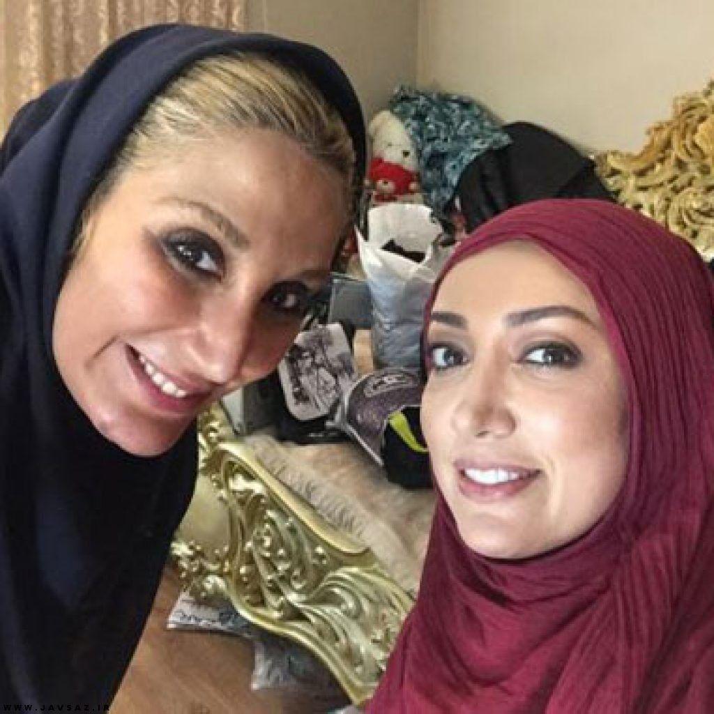 جشن تولد نگار عابدی با حضور پدر و مادرش عکس جشن تولد ۴۶ سالگی نگار عابدی بازیگر سریال آرام میگیریم نگار عابدی سريال ارام ميگيرم نگار Fashion Hijab Instagram
