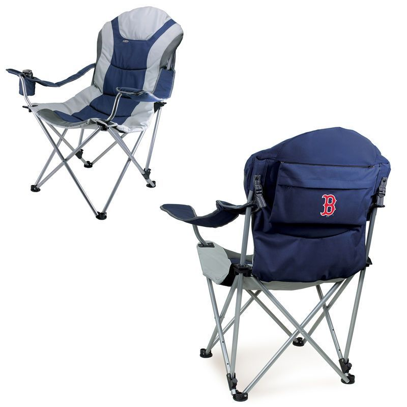Boston Red Sox Reclining Camp Chair Navy Camping Chairs Pinterest