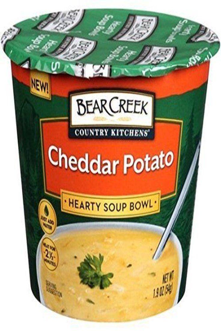 12.99 Bear Creek Hearty Bowl Soup Bowl, Cheddar Potato