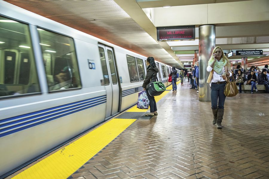 Bay Area Rapid Transit 2 Powell Street Station