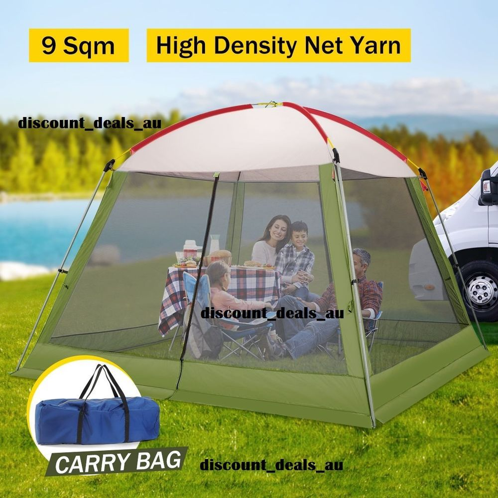 Portable Gazebo Marquee POP-UP Sun Beach Shelter Picnic Shade Tent Mosquito Net & Portable Gazebo Marquee POP-UP Sun Beach Shelter Picnic Shade Tent ...