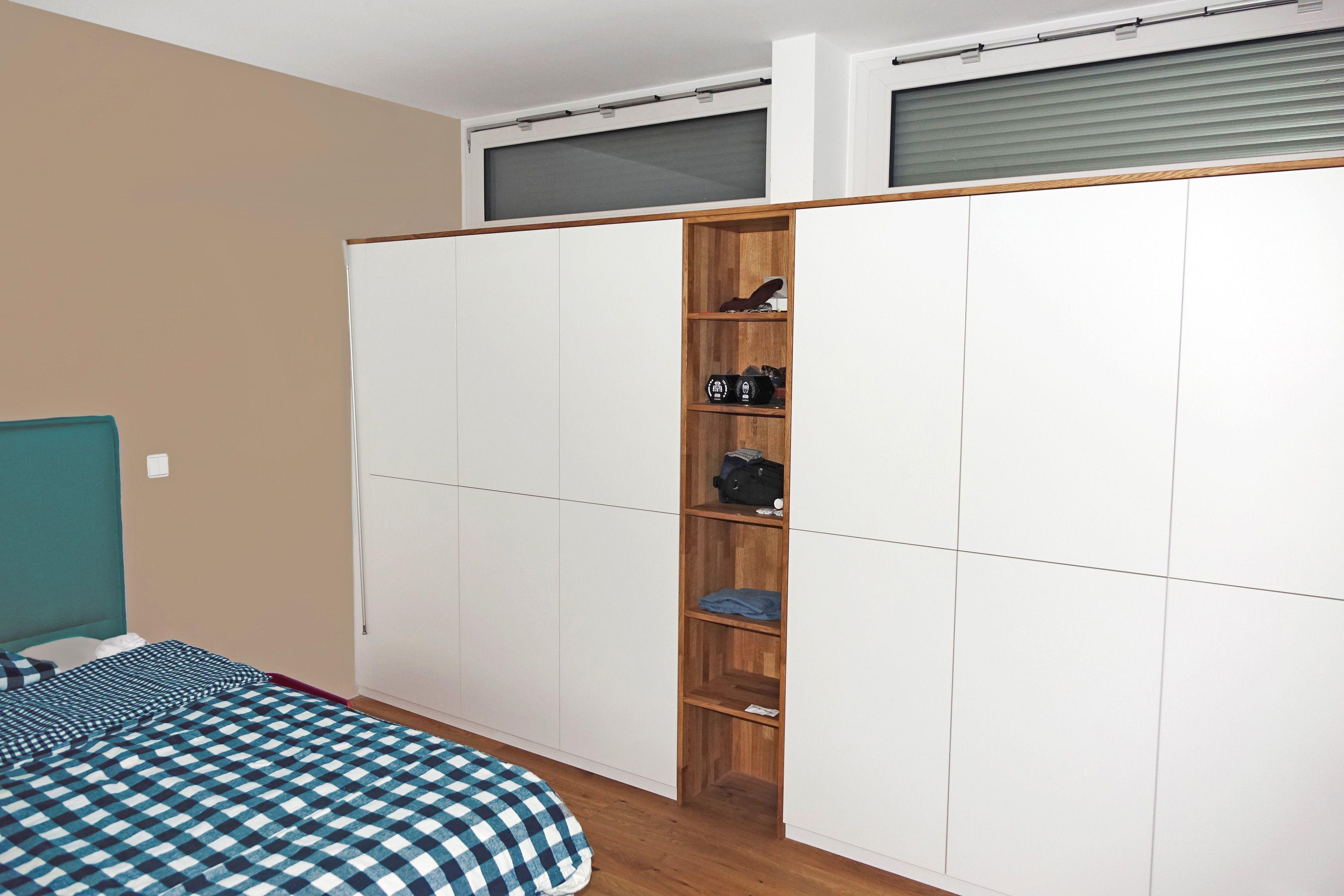 VOGEL wohnt(t)äume in Holz Einbauschrank im Schlafzimmer