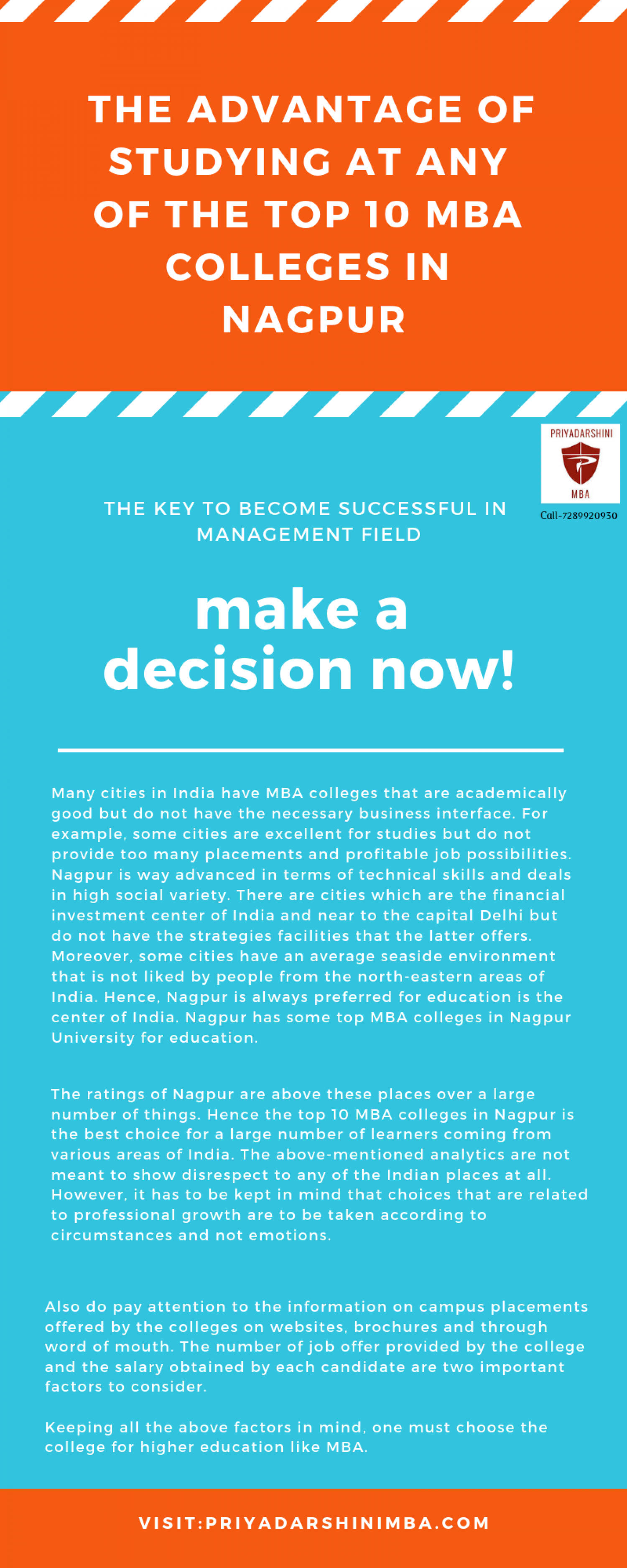 Top Mba Colleges In Nagpur University Infographic With Images Mba School Application Business Management Degree