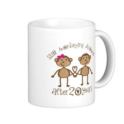 Sale on 20th Wedding Anniversary Gifts Mug 20th Wedding Anniversary ...