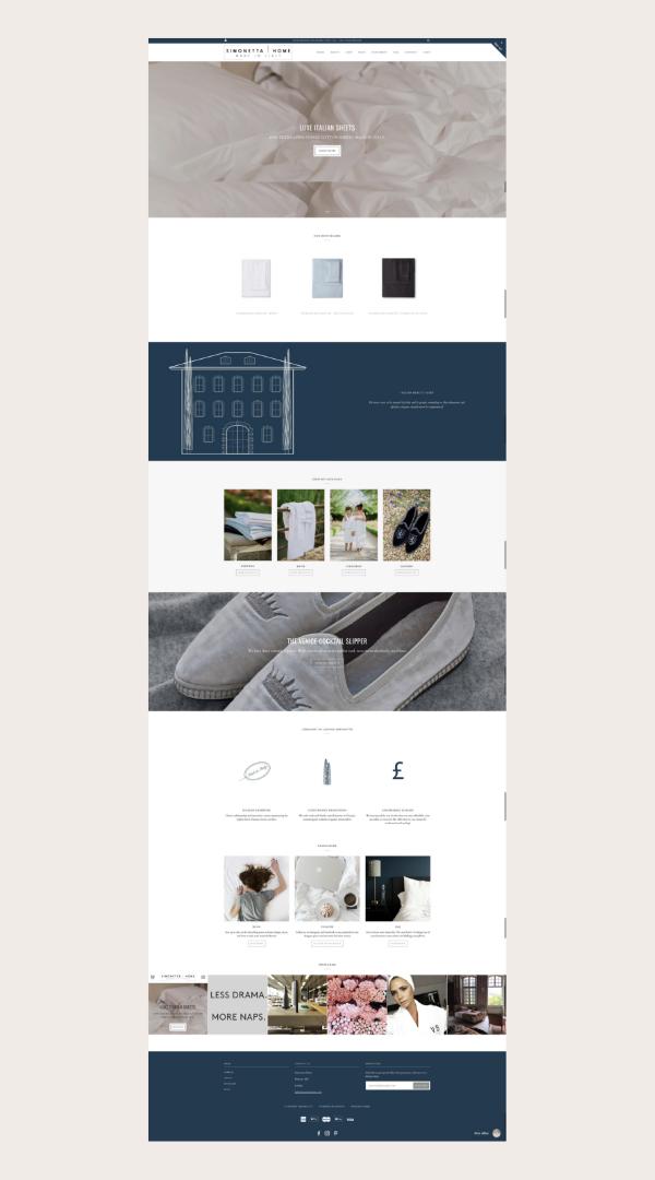 Custom Website Design By Kristen Fulchi Design Studio Simple Minimal Feminine And Portfolio Website Design Custom Website Design Website Design Inspiration