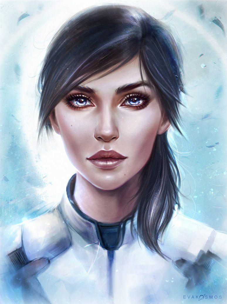 Sara Ryder Mass Effect Andromeda by EvaKosmos.deviantart.com on @DeviantArt