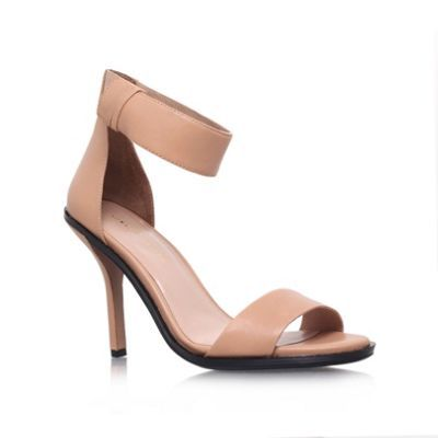 KG Kurt Geiger Nude 'Jade' high heel sandals- at Debenhams.com
