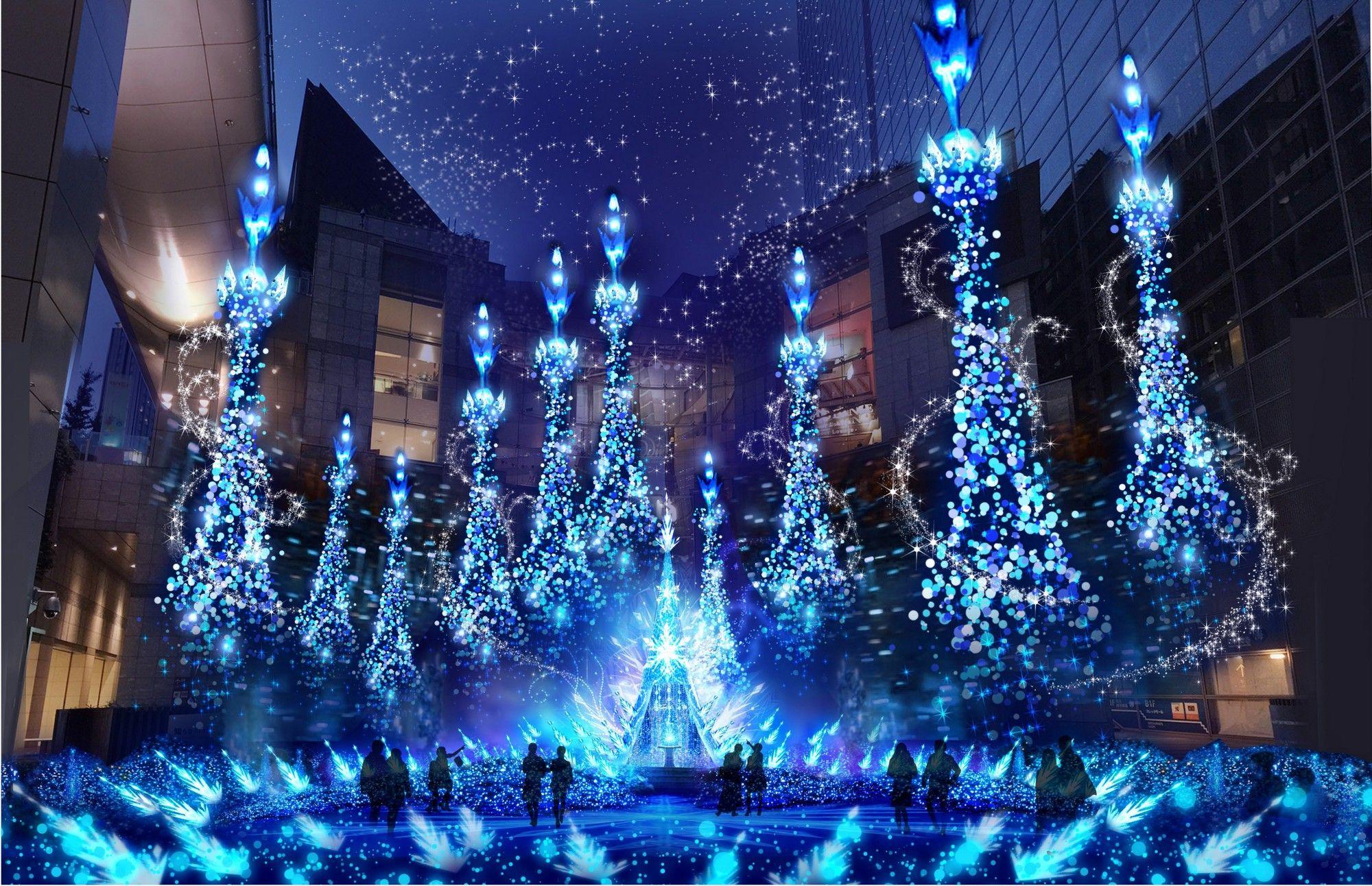 20182019 Tokyo Winter Illumination Caretta Illumination