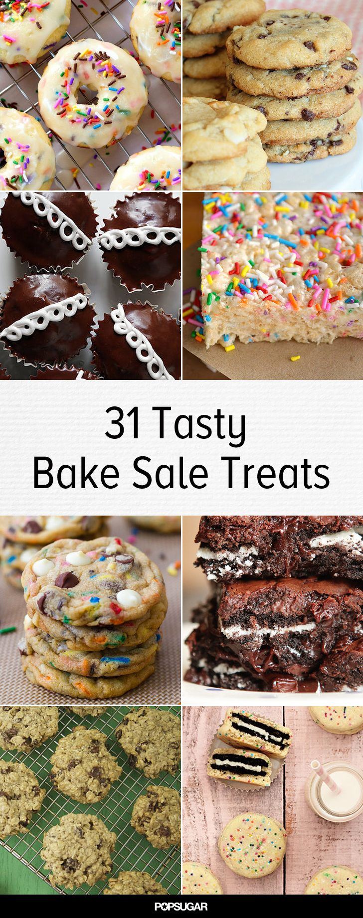 Food Sale: 31 Ways To Nail The Next School Bake Sale