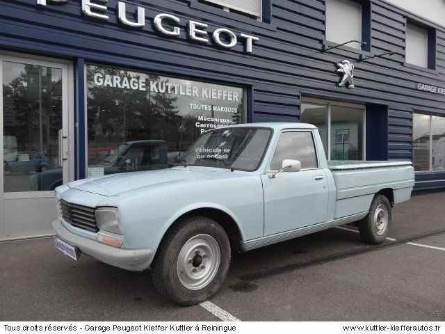 peugeot 504 pick up 1984 occasion auto peugeot 504 vintage cars peugeot cars vintage cars. Black Bedroom Furniture Sets. Home Design Ideas