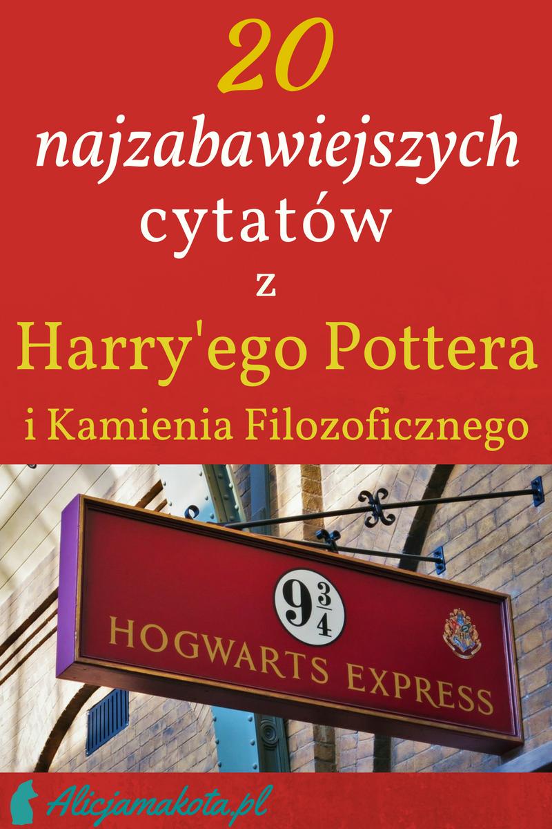 Harry Potter I Kamien Filozoficzny 20 Cytatow I Zabawnych Fragmentow Harry Potter Novelty
