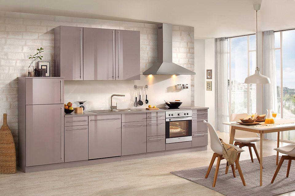 Wiho Küchen Küchenzeile mit E-Geräten »Chicago 350 cm« Jetzt - k chenblock ohne e ger te