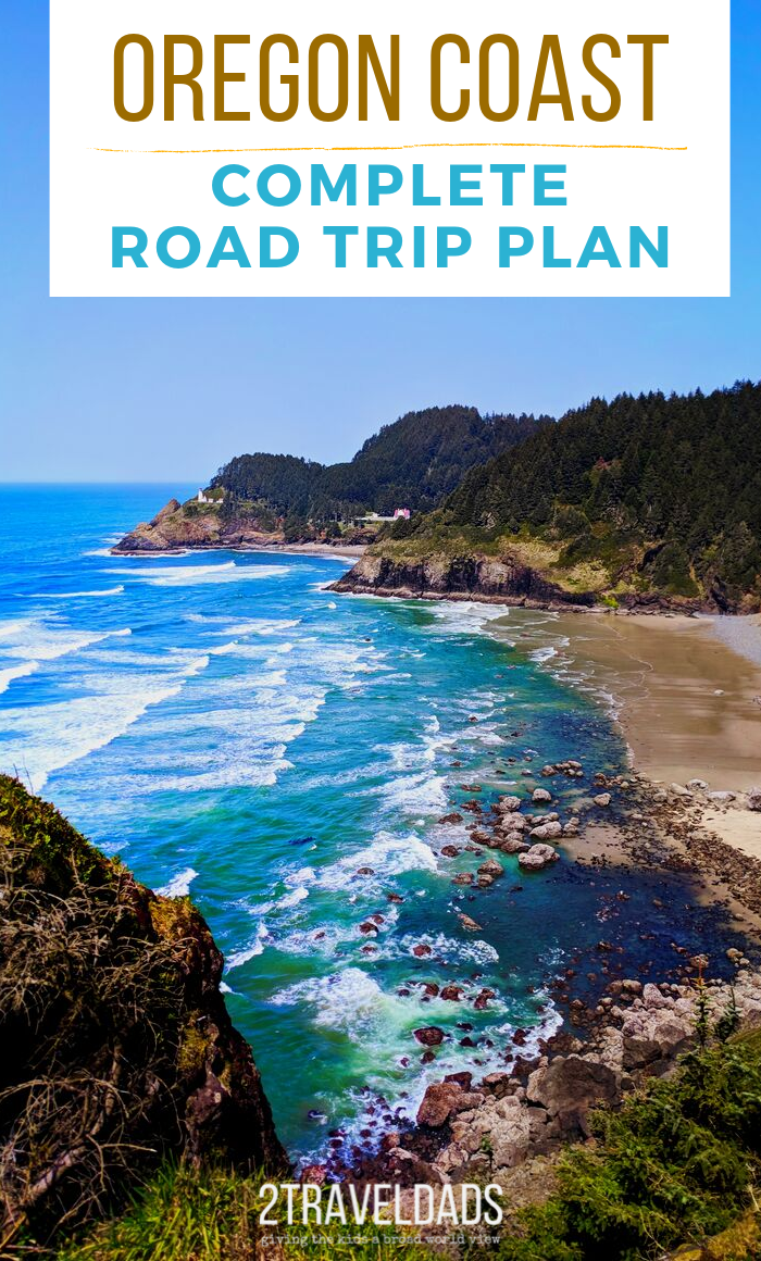 Oregon Coast Road Trip from North to South (or reverse) - best things to do, sights & beaches