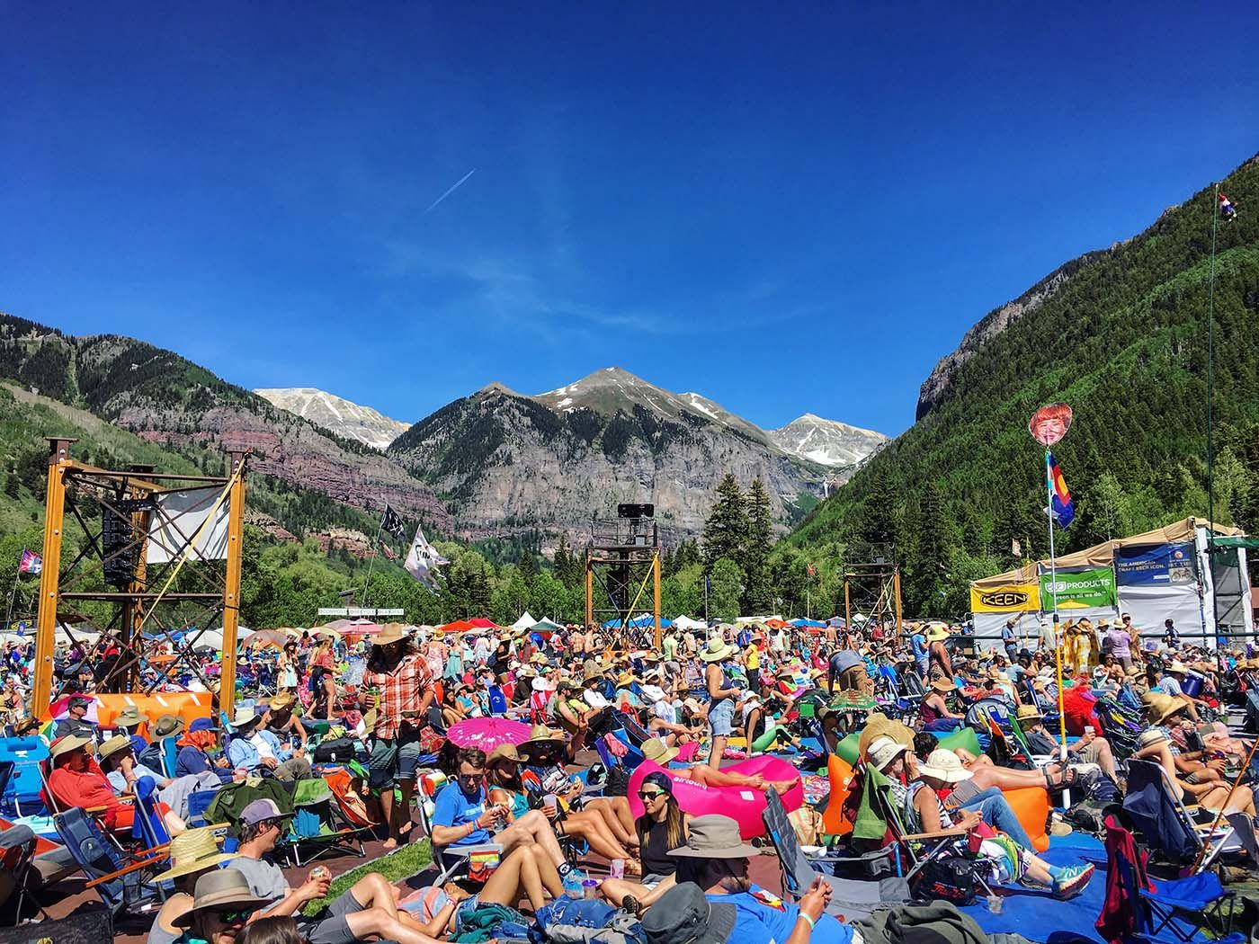 telluride bluegrass festival guide blue mountain belle in 2020 telluride bluegrass cool places to visit road trip usa pinterest