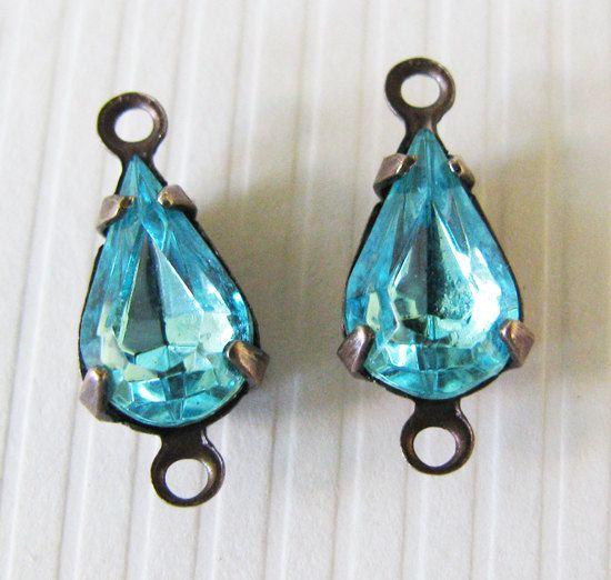 Vintage Jewels Aquamarine Pears