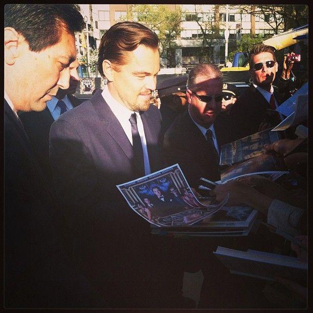 Gatsby? Quale Gatsby? #LeonardoDiCaprio alla premiere newyorchese de #IlGrandeGatsby #GrandeGatsby #TheGreatGatsby
