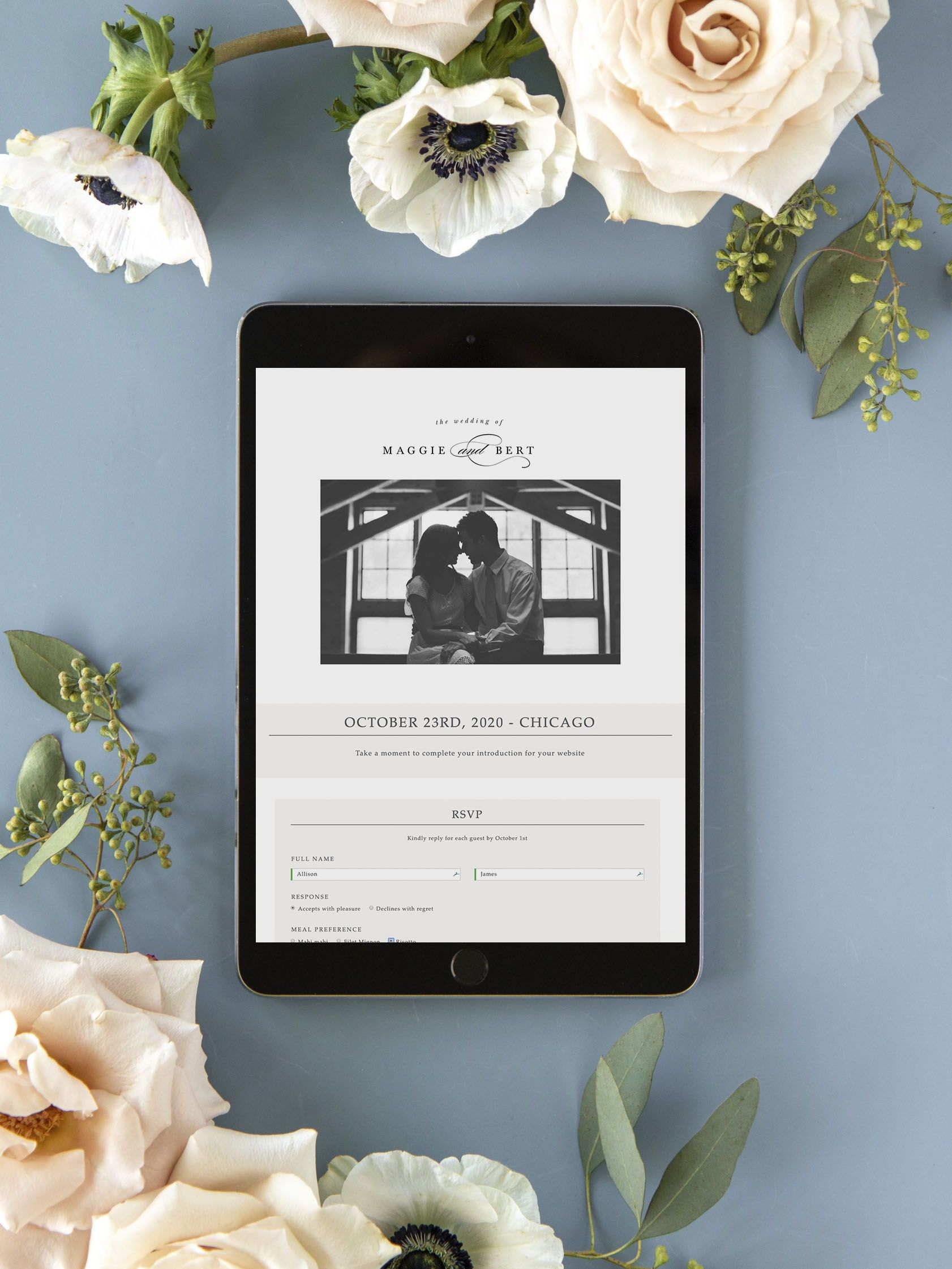 Classic Photo Wedding Website Free Wedding Websites Low Waste Wedding Invitations In 2020 Wedding Website Free Wedding Website Rsvp Wedding Website