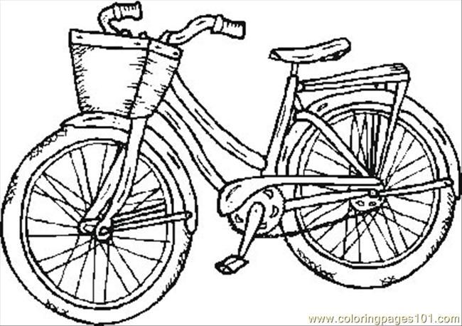 Bicycle safety coloring pages free printable coloring page old bike transport bikes