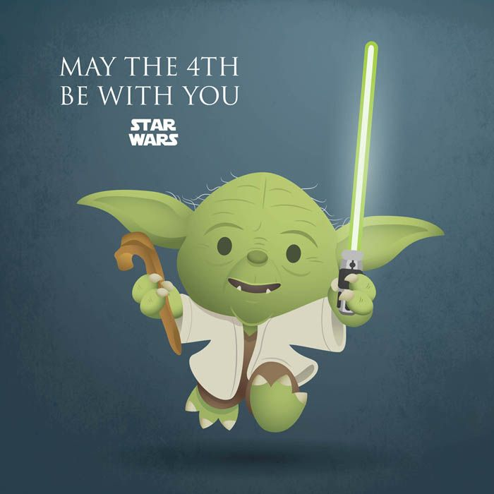 Chewbacca May The 4th Be With You: Happy Star Wars Day! -Jerrod Maruyama
