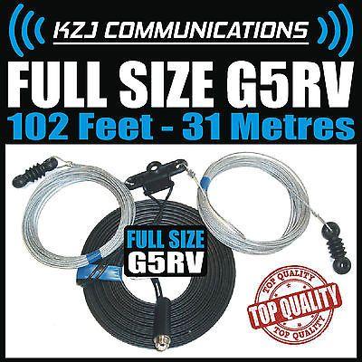 G5rv #antenna full size 102' feet 31 #metre #amateur ham radio cb radio wire aeri,  View more on the LINK: http://www.zeppy.io/product/gb/2/391374202870/