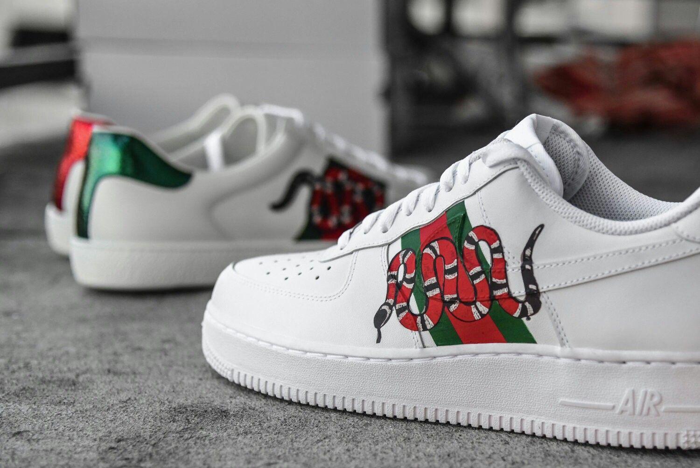 Af1 gucci Nike air force sneaker, Nike air, Sneakers nike