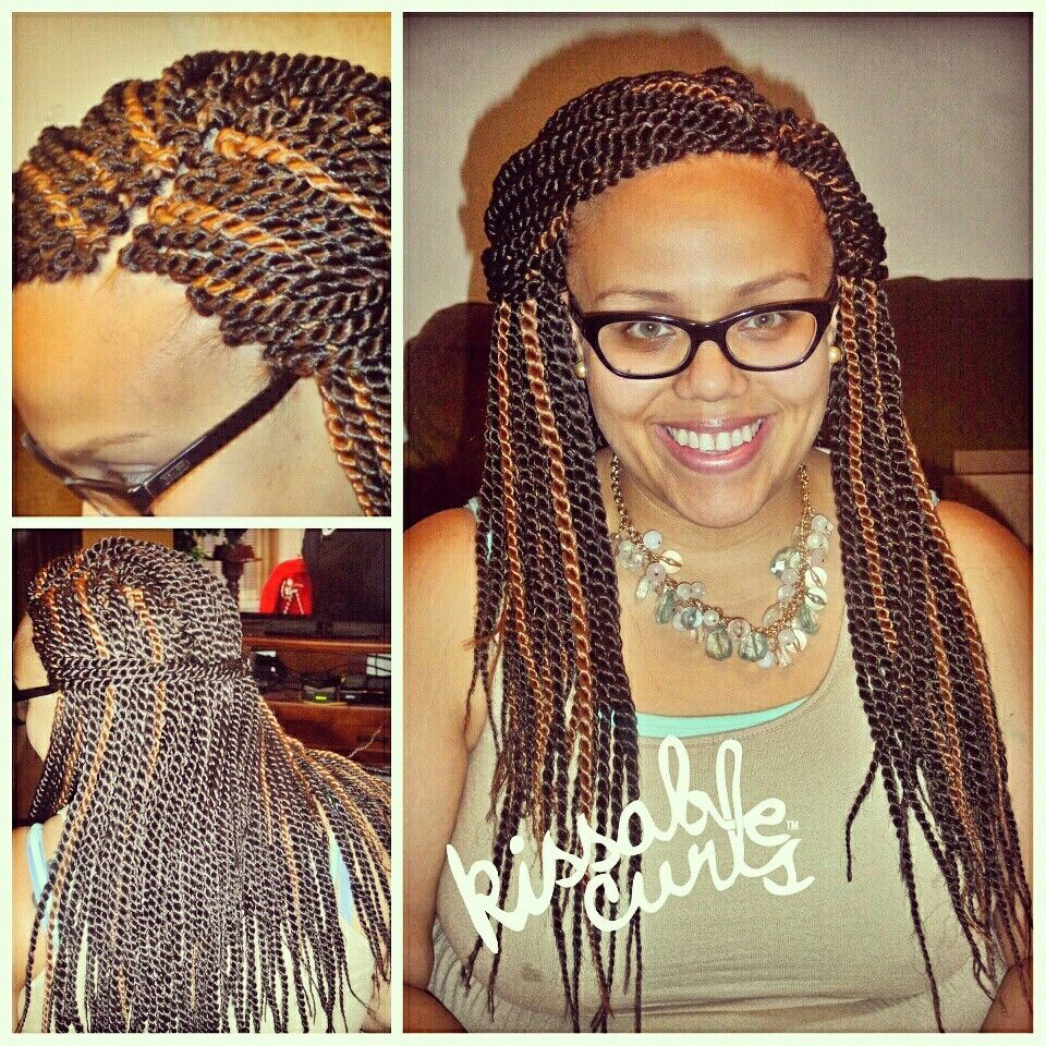 Crochet Senegalese Twists Using Freetress Senegalese