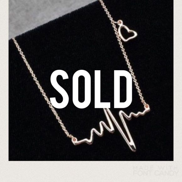 """🎉$5 SALE! B2 GET 1🎉 Silver EKG Necklace Makes a perfect gift! Approx. 15.75"""" ✨I discount bundles!✨🎉This item is part of my Buy2 $5 items GET1 FREE! Check out my closet for more listings! Now through Sun. Lmk what you want and I'll create a custom bundle!!😊🎉 Jewelry Necklaces"""