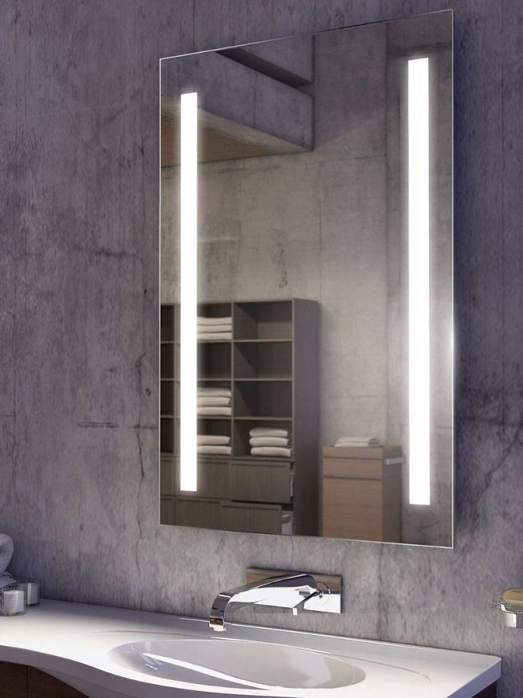 Are You Searching For Best Bathroom Mirror Ideas This Beautiful Bathroom Mirror Ideas Are Fun Stylish And Creative Bathro In 2020 Bathroom Mirror Design Bathroom Mirror Lights Simple Bathroom